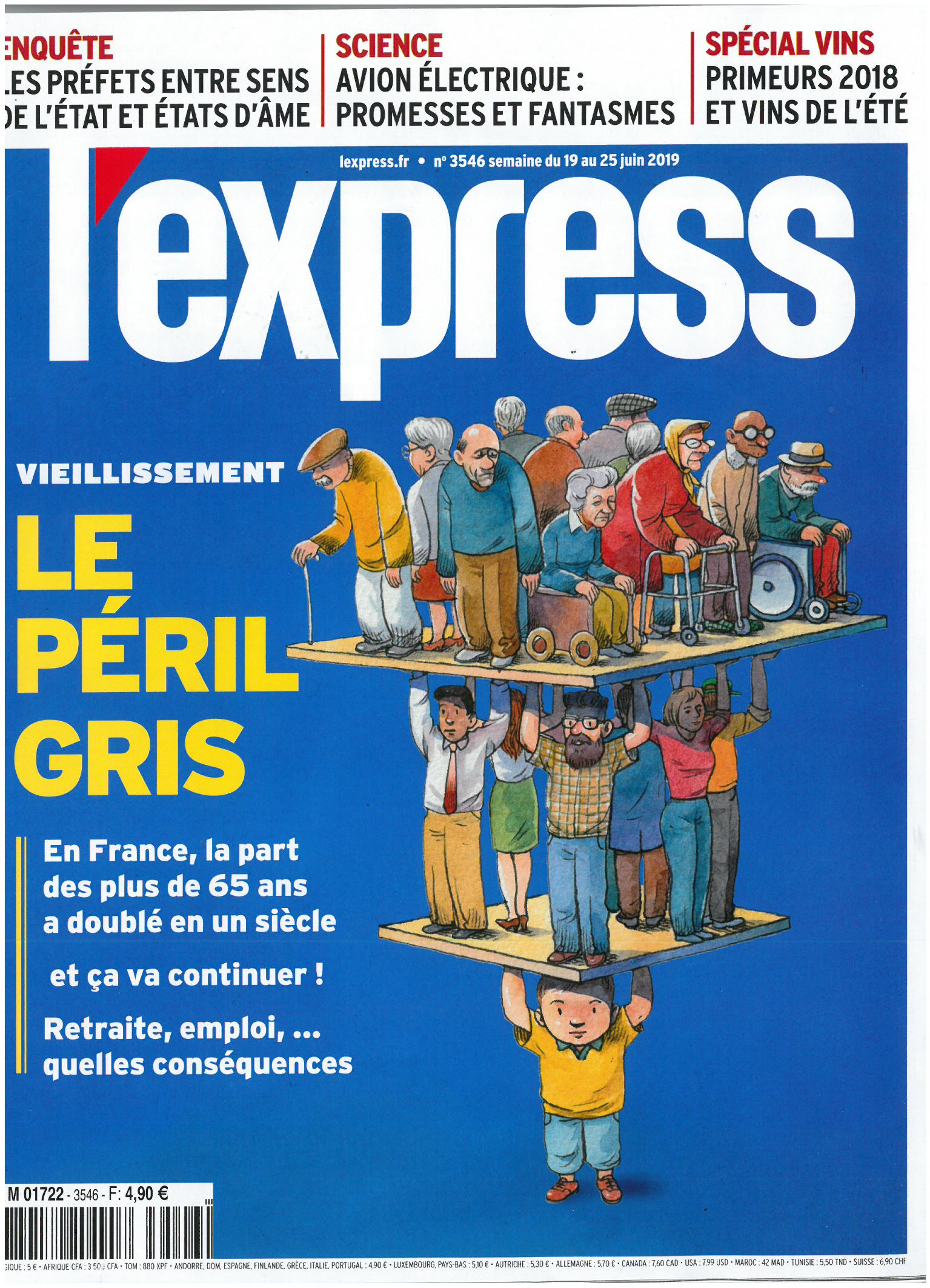L'express N°3546 - juin 2019